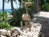 Coral stone animal figure
