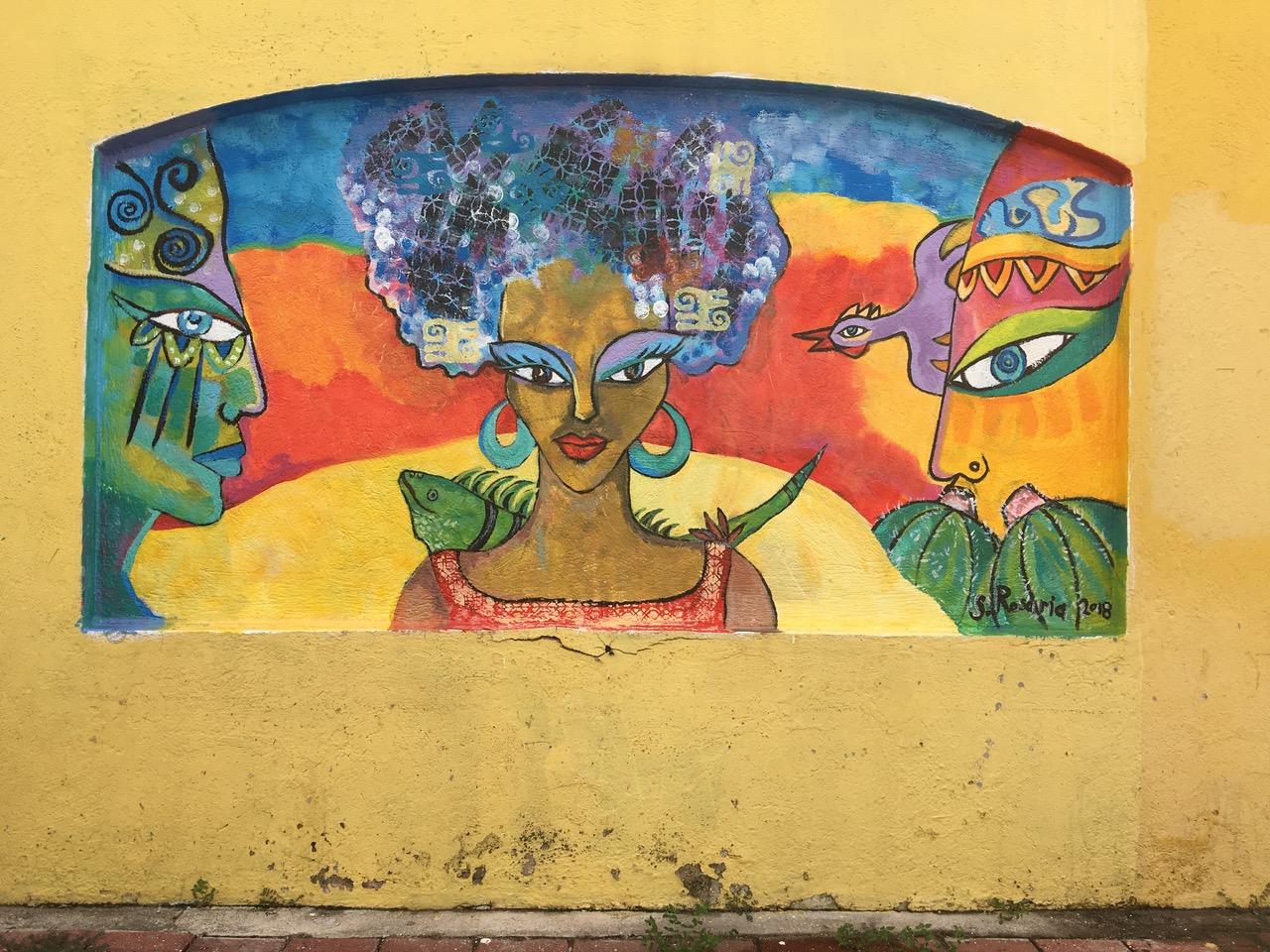 Murals at Festival di Pueblo - Curaçao Art